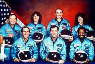 Challenger Crew--courtesy of NASA