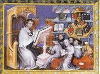 cours de philosophie à la faculté des arts au Moyen âge