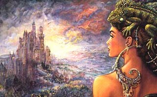 The Untold Story - Josephine Wall - <br />