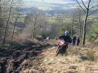 A rapid attempt on Sandale on Enduro tyres