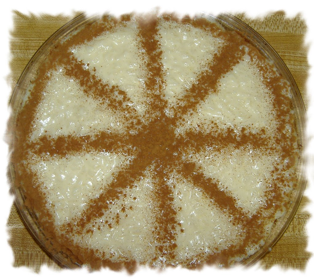Portuguese Rice Pudding Recipe http://fullbellies.blogspot.com/2006_11 ...