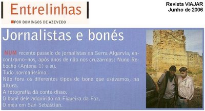 PASSEIO DE JORNALISTAS - Domingos de Azevedo e Nuno Rebocho