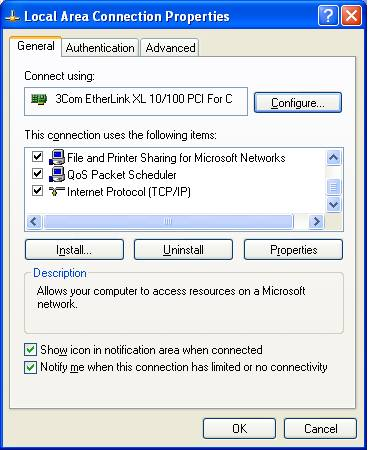 how to connect ps3 to local network