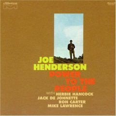 Pic of the cover of Joe Henderson's Power to the People album that contains the track Black Narcissus