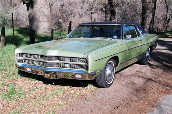 Coupe brougham 1969 ford ltd