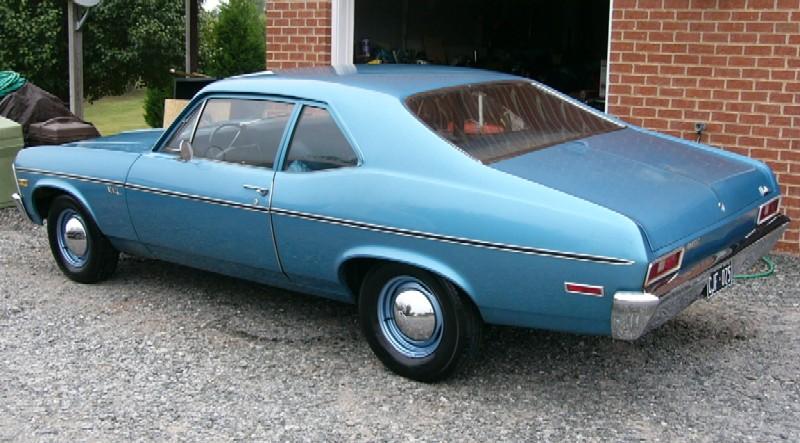coupe-brougham: 1972 Chevrolet Nova