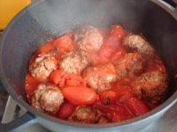 Curry mit Fleischbällchen