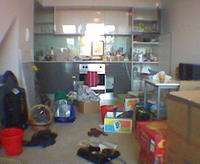 The Day after moving in April 2004
