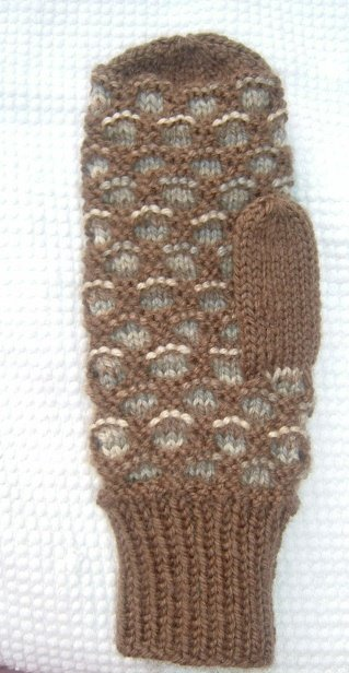 Knitting Pattern For Childs Newfie Mittens : An Island Girl: Newfoundland Mittens