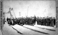 1886 toboggan slide near St. Paul, similar to the one St. Vincent had during the same period...