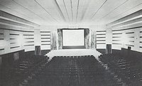 Interior of the Hallock Grand Theatre, in its heyday...