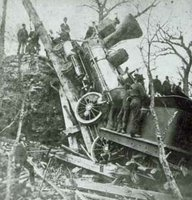 1885 Minnesota train wreck