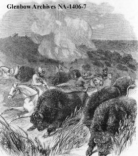 1860 Red River Buffalo Hunt