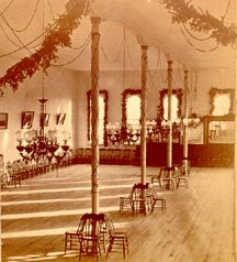 Ballroom over the Northern Hotel in St. Vincent