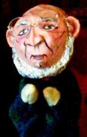 Harry Oudekerk as a puppet, by Lynn Zetzman