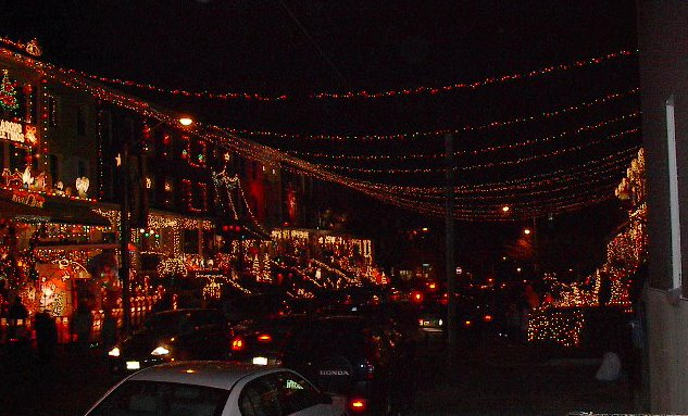 miracle whip on west 34th street hampden baltimore maryland - Baltimore 34th Street Christmas Lights