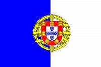 Uma nova bandeira com o escudo republicano