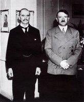 Chamberlain com Hitler