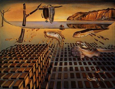 Salvador Dali - La desintegración de la persistencia de la memoria