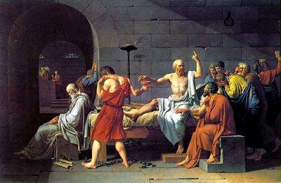 Jacques-Louis David- A Morte de Sócrates