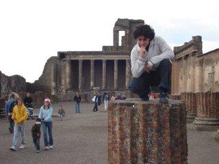Andrés en Pompeya