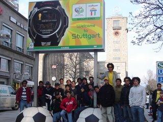 En la entrada de la ciudad