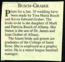 Brides Who Likely Won't Hyphenate - busch-graber