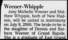 Brides Who Likely Won't Hyphenate - weener-whipple