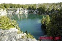 quarry in elora
