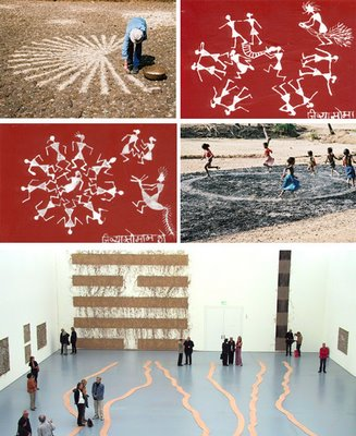 richard long jivya soma mashe indian encounter and exhibition