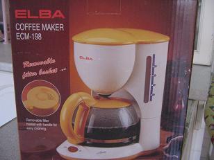 Elba Coffee Maker Ecm D1280(Bk) : The last sale