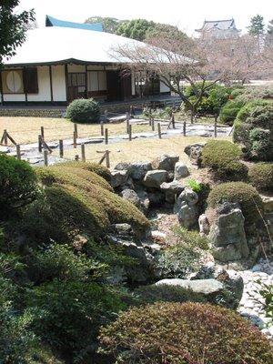 Nagoya Castle Rock Garden