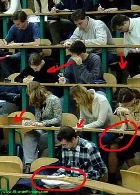cheating exam