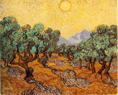 van gogh - the olive grove