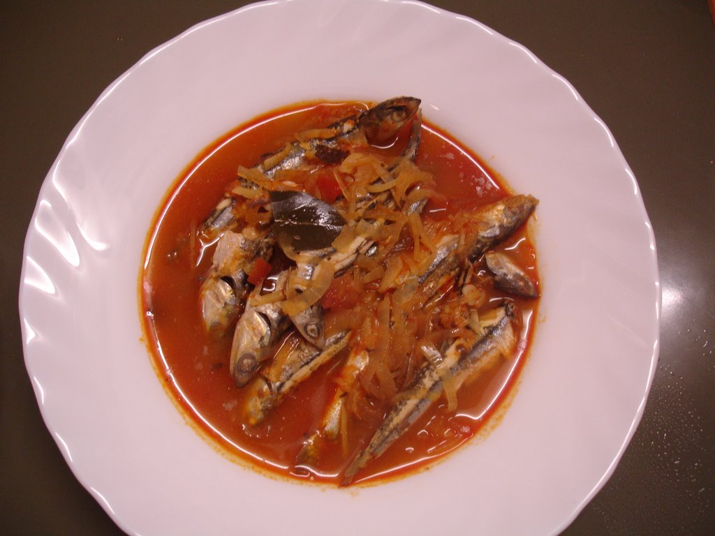 Sardines-curry