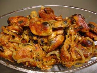 Sauteed Mussels