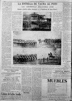 Devolución de Tacna al Perú, 28 de agosto de 1929