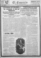 Asesinato de Sánchez Cerro, 30 de abril de 1933