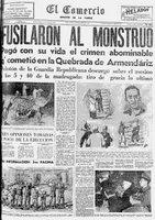 Fusilan al 'Mounstruo de Armendáriz, 12 de diciembre de 1957