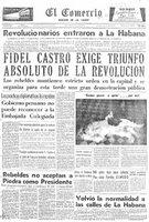 Triunfo de la Revolución Cubana, 1 de enero de 1959