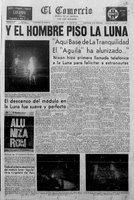 Llegada del hombre a la Luna, 20 de julio de 1969