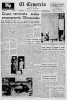 Setiembre Negro enluta las Olimpiadas de Munich, 6 de setiembre de 1972