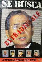 Fujimori Sí es peruano. ¡Extraditen a Fujimori!