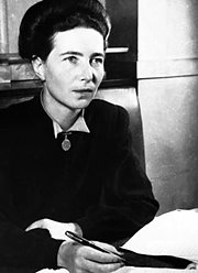 Simone de Beauvoir, 1908-1986