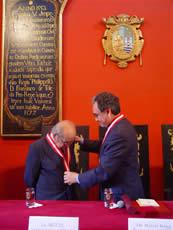 Doctor Miguel Maticorena, flamante Profesor Emérito