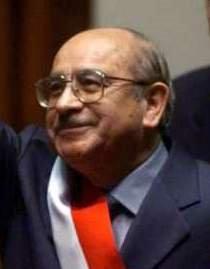Valentín Paniagua Curazao, Presidente del Perú (2000-2001)