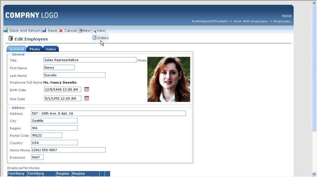 Fernando Panizza\'s WebLog: Using Asp .net 2.0 Web Menu Control as ...