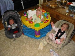 Max, Maya and Soleil (babypalooza)