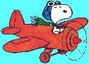 snoopy plane
