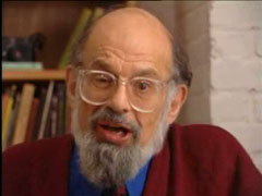 Alan ginsberg reading Howl 1956.